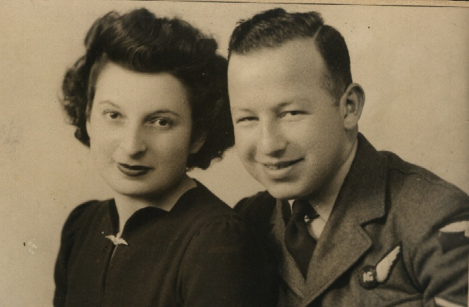 David and Rose Honeymoon July 1944