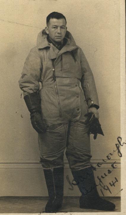 David Dushman, August 1941