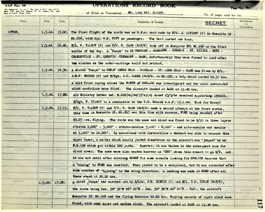 1944 Briggs and Baker PAMPA