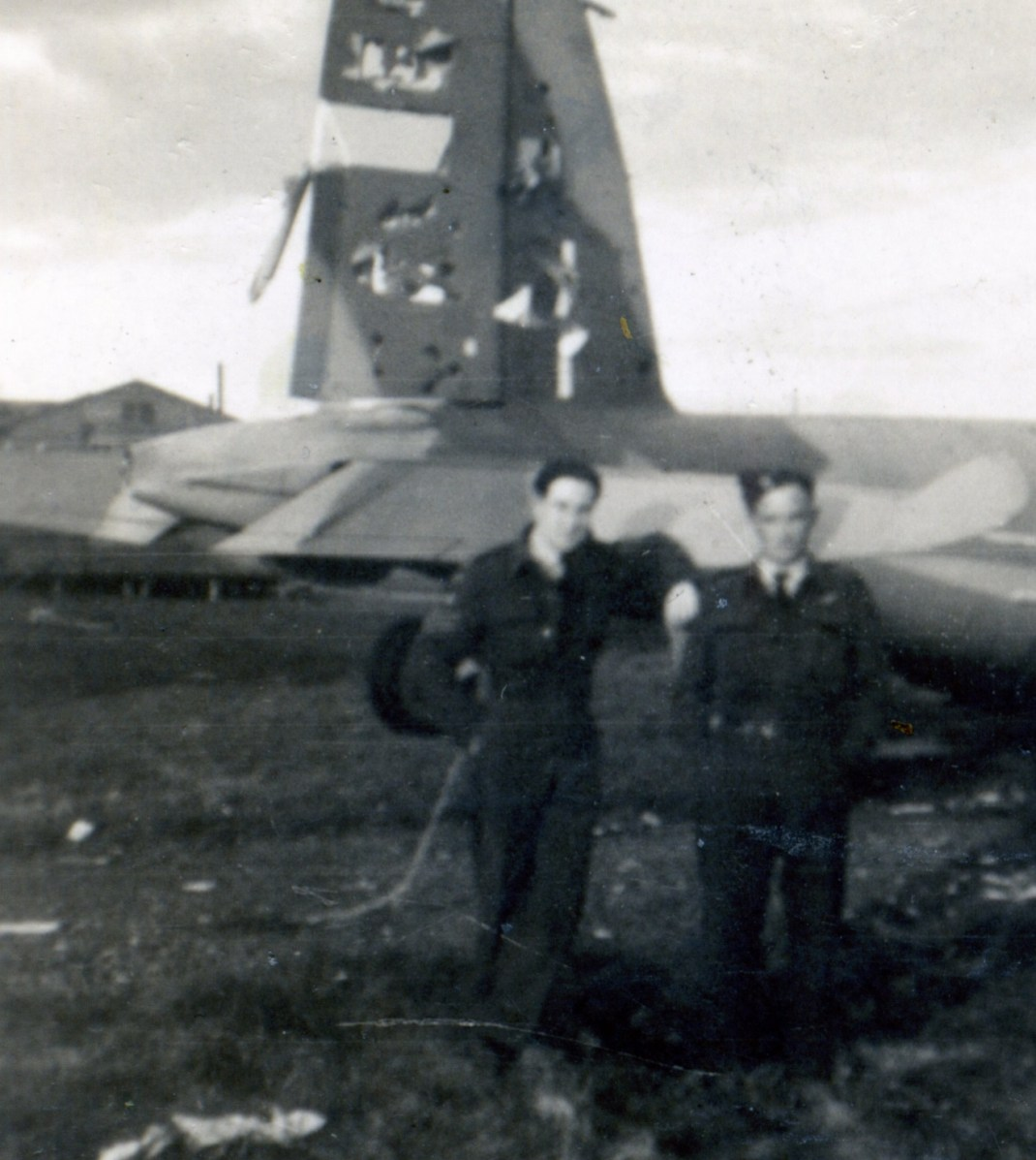 Downed Mossie 1, tail