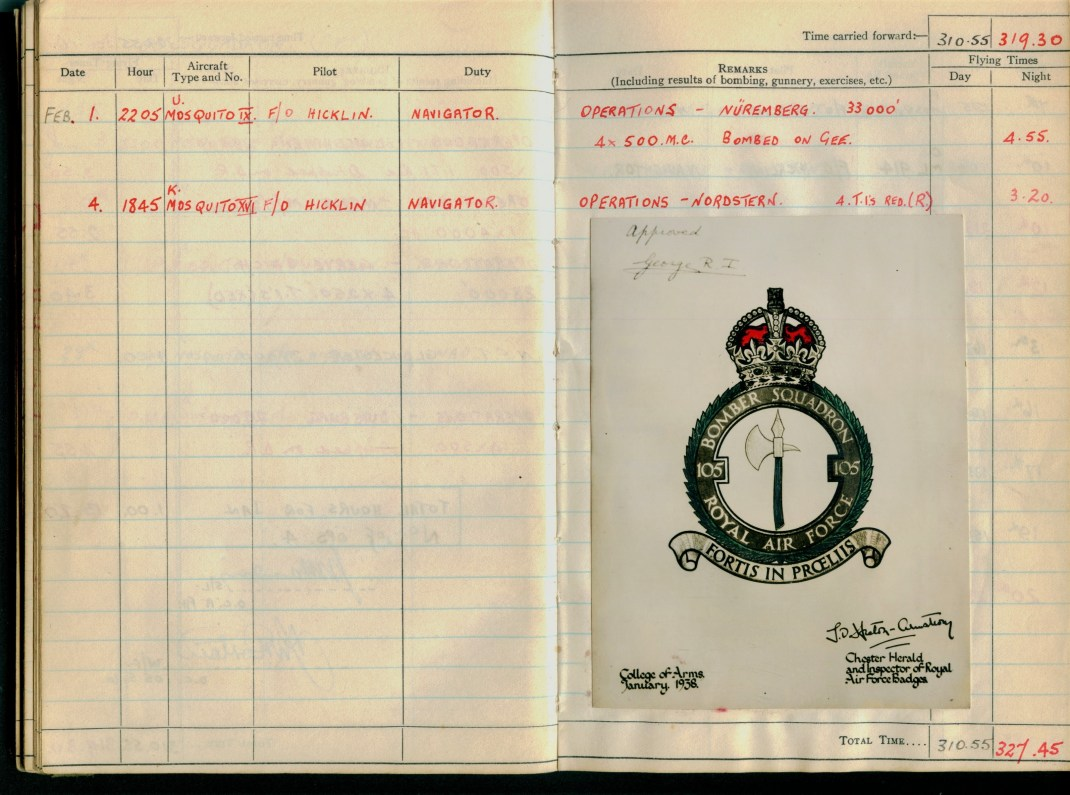 105 squadron badge
