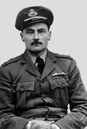 George Cotton-Stapleton, RNZAF, wound stripes