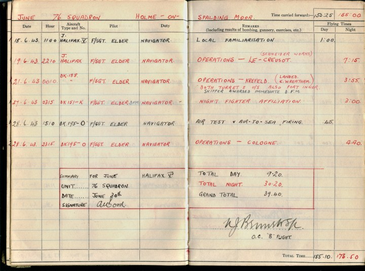 krefield op 26 June 1943