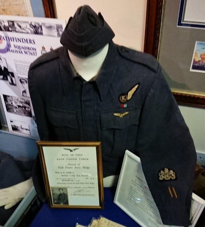 flight sergeant W C HIggs - wound stripes