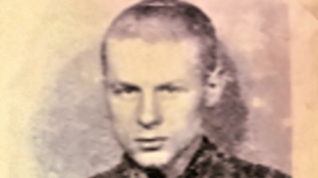 Eric Skinner after Capture by the Germans