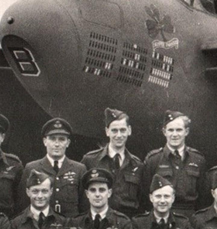 109 Squadron, October 1944, Arthur Jackson, detail 2