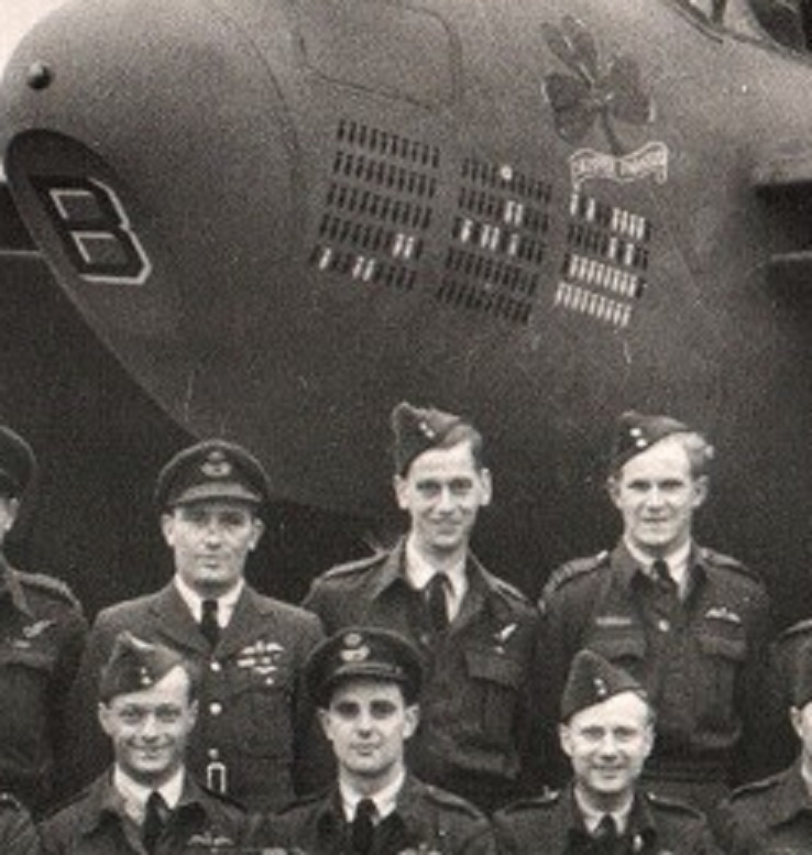 109 Squadron, October 1944, Arthur Jackson, detail 2