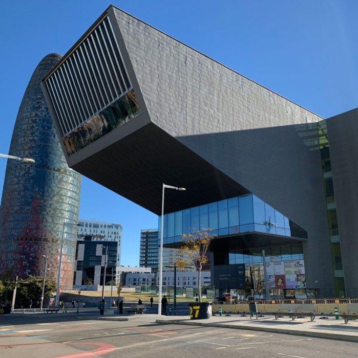 barcelona disseny hub en plaza glorias