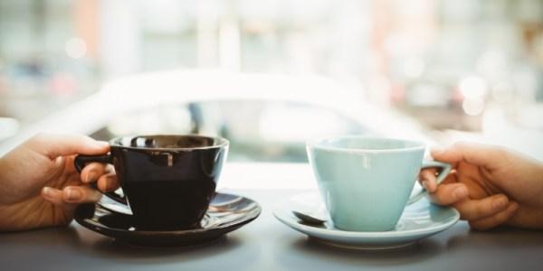 xícara de café para conseguir novos clientes