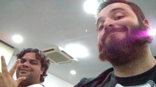 Leo Baiano e Rafael Funchal no PHPSP