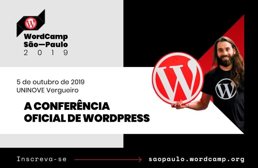 Inscreva-se no WordCamp São Paulo - 5/10 na UNINOVE Vergueiro