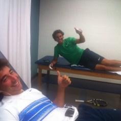 Rafa and Marc Lopez - Rafael Nadal Fans (6)