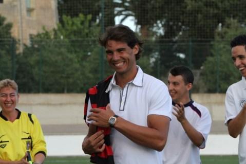 Rafa Attends Inter Manacor Match- Rafael Nadal Fans (2)