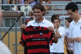 Rafael Nadal Attends Inter Manacor Football Match (3)