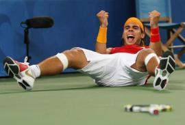 Olympics 2008 - Rafael Nadal Fans (4)