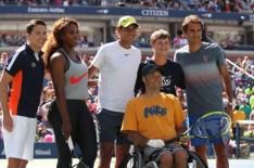 Rafael Nadal - Kids Day 2013 - New York (6)