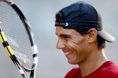 Davis Cup - Rafael Nadal practicing in Madrid (1)