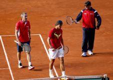Davis Cup - Rafael Nadal practicing in Madrid (15)