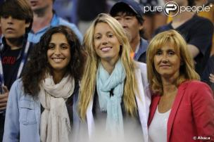 Girlfriend Maria Xisca Watching Rafael Nadal - US Open 2013 (7)