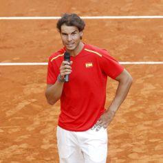 Rafael Nadal and Marc Lopez - Davis Cup - Spain Ukraine (25)