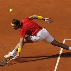 Rafael Nadal and Marc Lopez - Davis Cup - Spain Ukraine (5)
