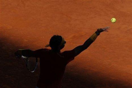 Rafael Nadal beats Sergiy Stakhovsky 60 60 64 Davis Cup (10)