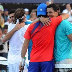 Nadal Djokovic Nalbandian Monaco Argentina 2013