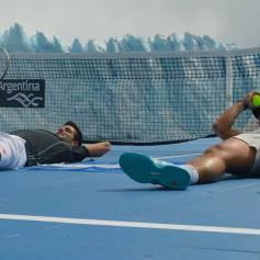 Nadal Djokovic Perito Moreno Argentina 2013 (2)