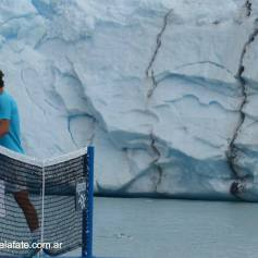 Nadal Djokovic Perito Moreno glacier in Argentina 2013 (4)