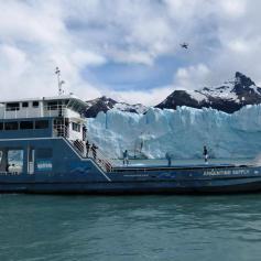 Nadal Djokovic Perito Moreno glacier in Argentina 2013 (7)