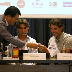 Rafael Nadal David Ferrer Peru Press Conference (1)