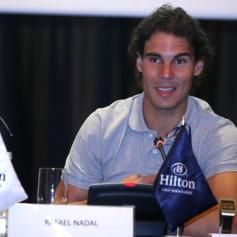 Rafael Nadal David Ferrer Peru Press Conference (13)