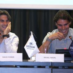 Rafael Nadal David Ferrer Peru Press Conference (16)