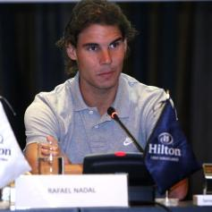 Rafael Nadal David Ferrer Peru Press Conference (2)