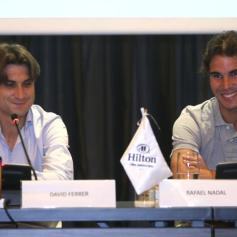 Rafael Nadal David Ferrer Peru Press Conference (4)