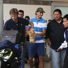 Rafael Nadal in Lima Peru 2013 (1)