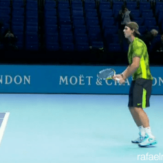 Rafael Nadal Practicing in London 2013 (3)