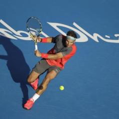 Rafael Nadal Abu Dhabi 2013 (7)