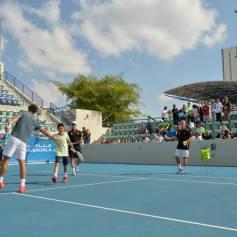Rafael Nadal At Kids Clinic In Abu Dhabi (4)