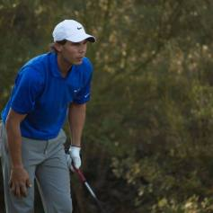 Rafael Nadal Plays Golf In Mallorca 2013 (13)