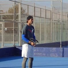 Rafael Nadal practices for new season in Mallorca (1)