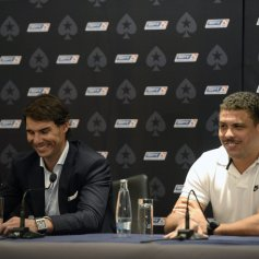 Rafael Nadal Ronaldo play poker Prague 2013 (4)