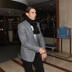 Rafael Nadal Ronaldo play poker Prague 2013 (7)