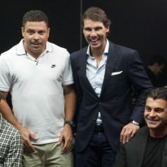 Rafael Nadal Ronaldo Shevchenko Tomba play poker Prague 2013 (15)