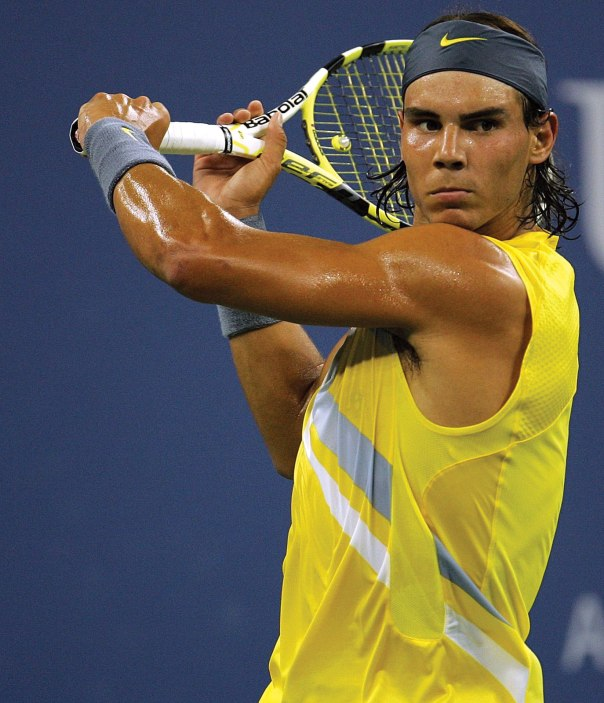 Rafael Nadal is the Academy's 2013 Male Athlete of the Year.