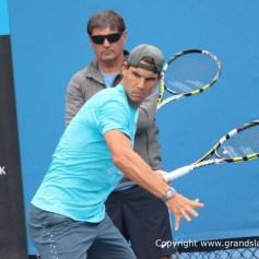 AO2014-Day-8-Rafael-Nadal-Practice0011