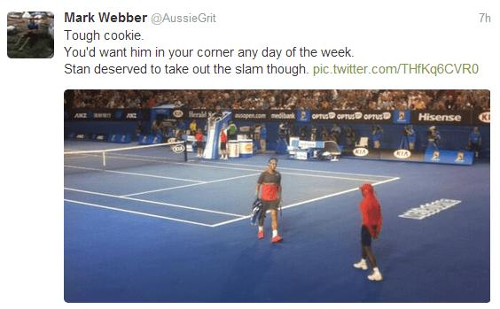 Mark Weber Rafa Nadal Australian Open 2014  (18)