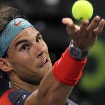 Nadal Kamke Doha 2013 (2)