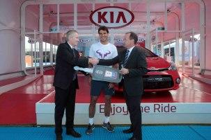 Rafael Nadal Australia Kia Fleet Handover (1)