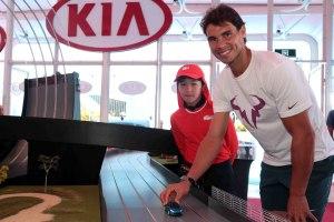 Rafael Nadal Australia Kia Fleet Handover (4)